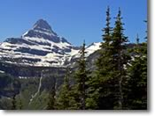 Glacier Park's mountain peaks take great pictures