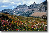 The Garden Wall in Glacier National Park