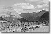 Glacier Park Overlook 1941