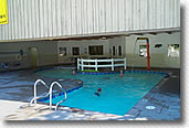 swimming pool fun at the whitefish koa